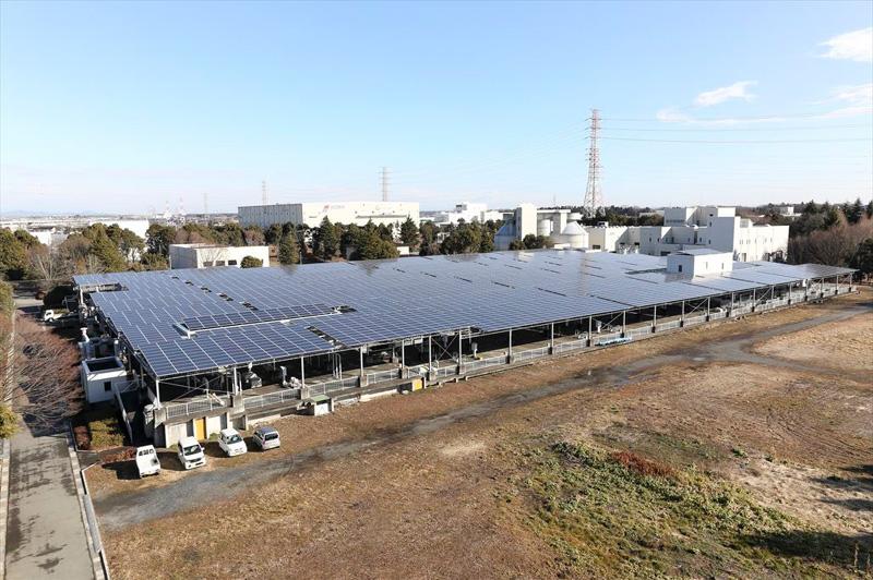 県央浄化センター太陽光発電所