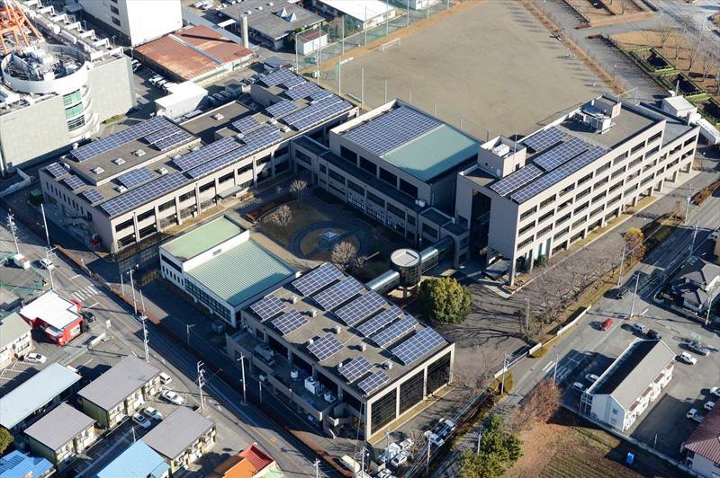 県央産業技術専門校太陽光発電所