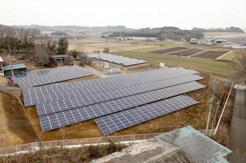 湯津上第二太陽光発電所