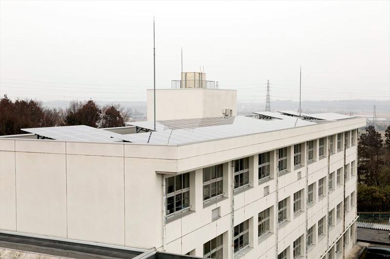 岡本北小学校太陽光発電所