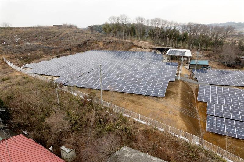 湯津上第一太陽光発電所